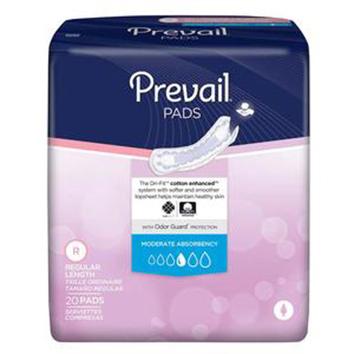 Prevail® Bladder Control Pad, Very Light PV-926 Case