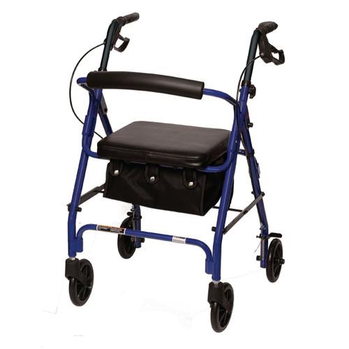 Junior Rollator RLAJ6 comes in blue or Burgundy