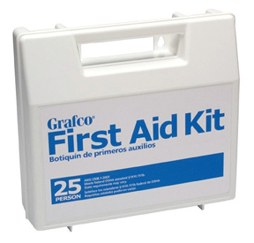 Grafco First Aid Kit for 25 People, Model: GF 1799-25P