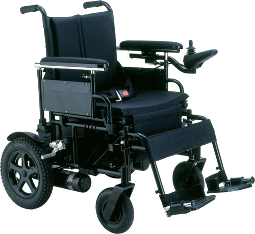 "Drive Cirrus Plus HD 22"" wide seat folding power wheelchair"