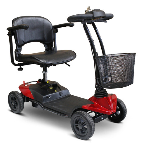 Red EW-M35 Light weight travel scooter