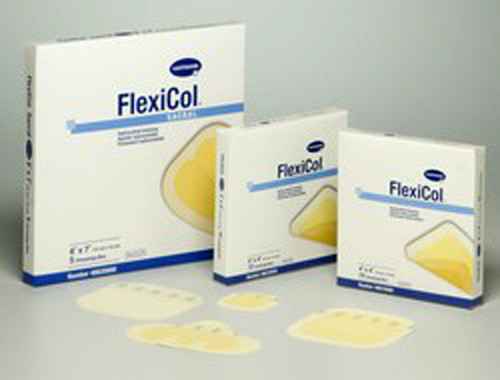 Hydrocolloid Dressing FlexiCol®, 4x4, box of 10