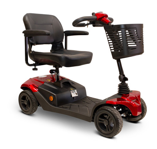Red EWheels EW-M41 4 Wheel scooter