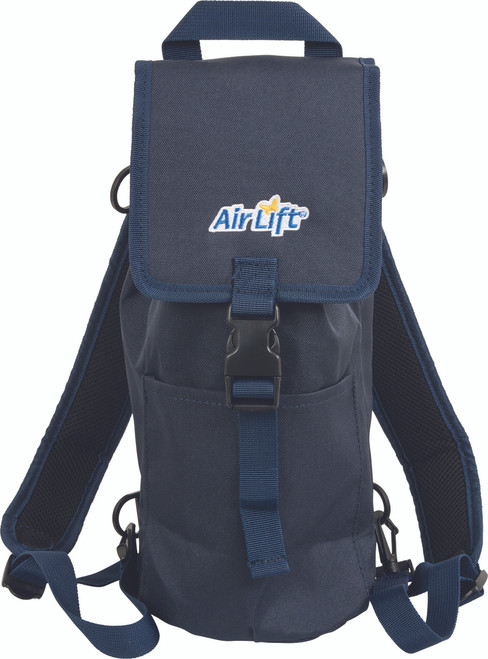 AirLift 24N Backpack Oxygen Tank Carrier for M6, C/M9 or Smaller Cylinders Cylinders, Front View