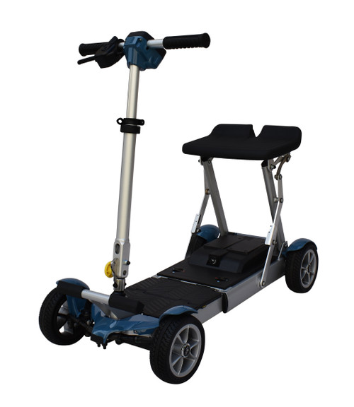 EV Rider Gypsy compact scooter, Blue