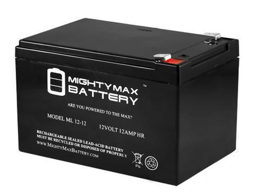 Mighty Max 12v 15ah battery