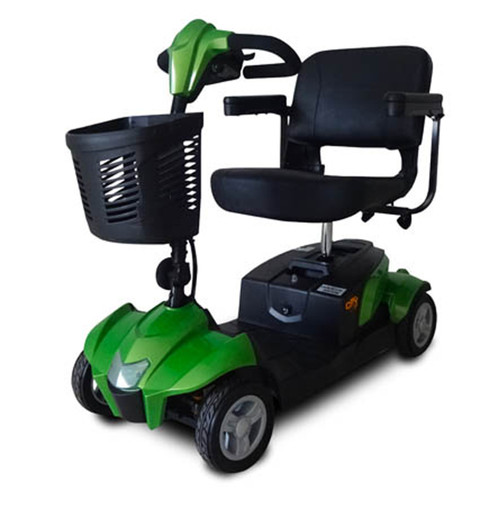 Green CityCruzer scooter with 20 ah battery