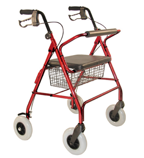 Tuffcare  R450 Red Extra Wide rollator walker