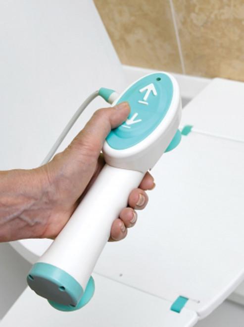 Controller on Splash Bath Lift