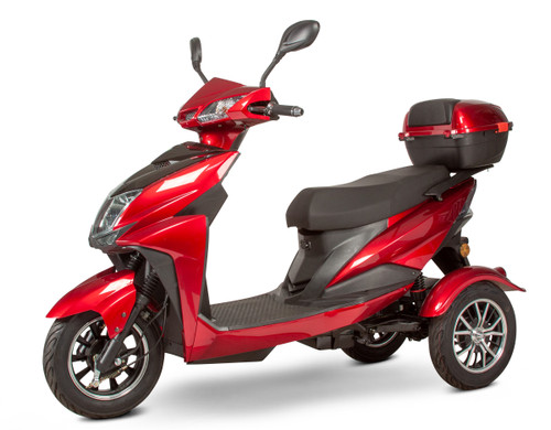 Red EW-10 Scooter