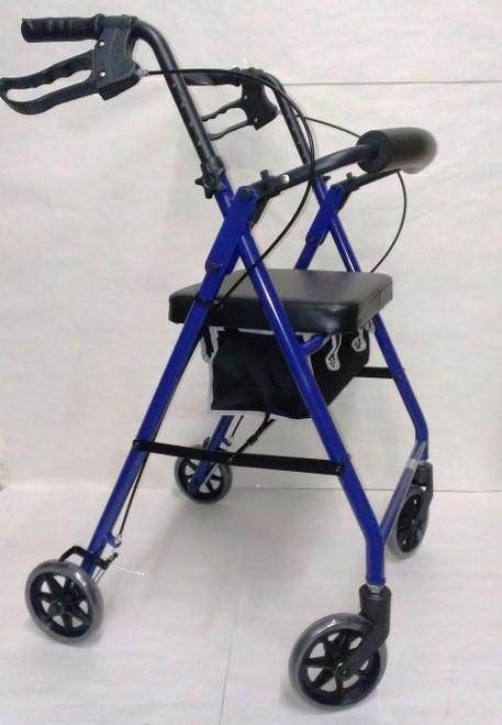 Alex Orthopedics P5022 Blue Junior Rollator Walker