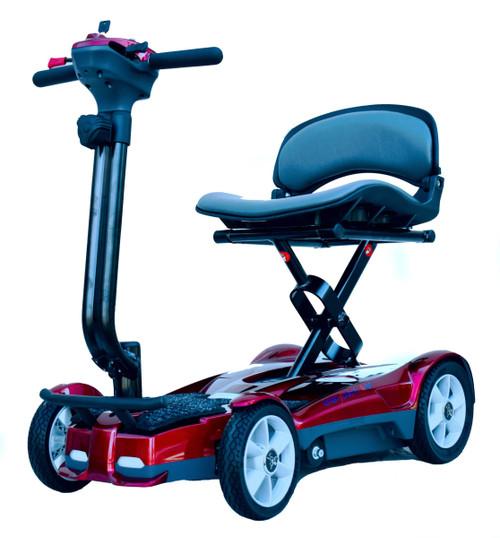 Red Transport 4AF four wheel folding scooter