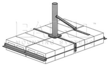 PSH-2 Non-Penetrating Roof Mount