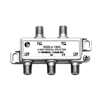 DGS-4 Digital Ready Splitter, 4 Way
