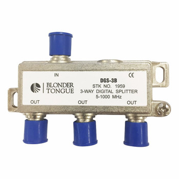 DGS-3B Digital Ready Splitter, 3 Way Balanced Split