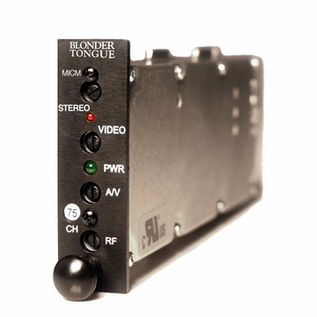 MICM-45DS Channelized Stereo A/V Modulator - Chs. 2-99