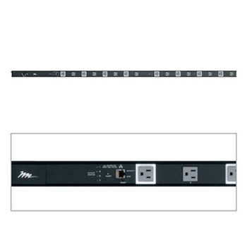RLNK-1615V 15A 16 Outlet Low Profile IP Controlled Vertical Powerstrip w/ RackLink