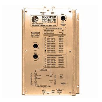 BIDA 75A-43 Broadband Indoor Distribution Amplifier