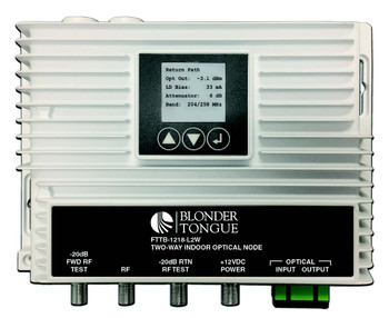 FTTB-1218-L2W Two-Way Indoor Optical Node with DOCSIS 3.1 Support
