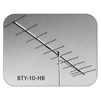 BTY-10-HB CH 8 Professional 10 element VHF highband single channel antenna