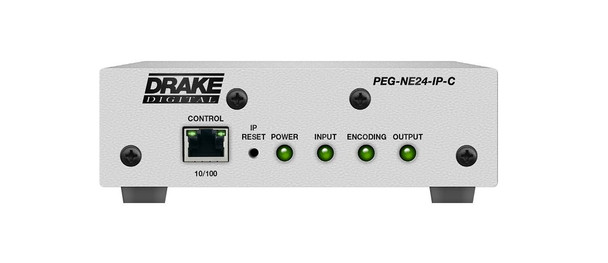 PEG-NE24-IP-C HD PEG Channel Encoder with HD-SDI or Composite Video Input (Reconditioned)