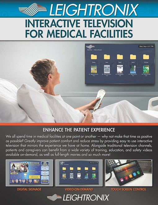 Interactive TV for Medical Facilities