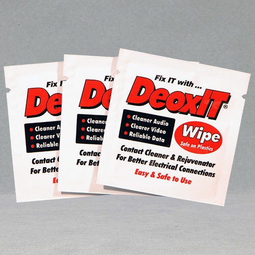 DeoxIT ®, #K-D1W-50 (Individual Wipes,3 x 3.5″)
