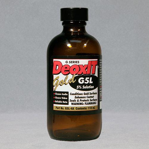 DeoxIT® Gold, #G5L-4A (5% Solution)