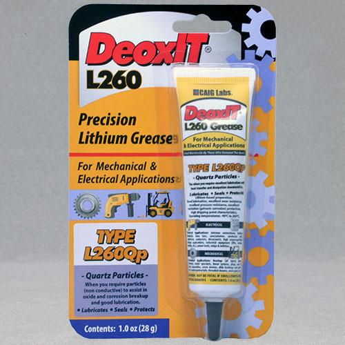 DeoxIT ® L260Qp, #L260-Q1 (Quartz particles)
