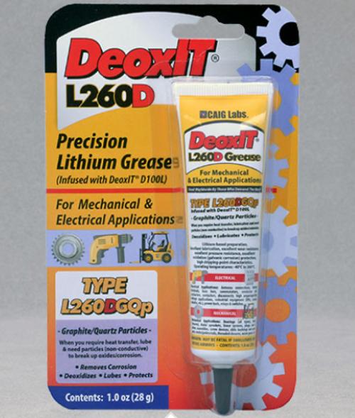 DeoxIT® L260DGQp, #L260-DGQ1 (Graphite/Quartz particles)