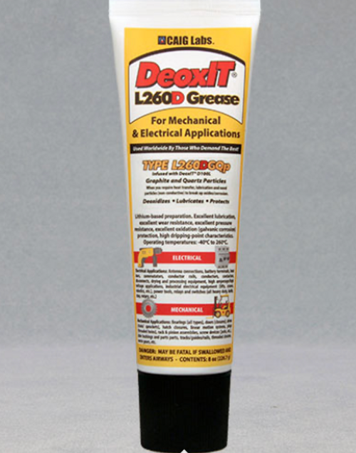 DeoxIT® L260DGQp, #L260-DGQ8 (Graphite/Quartz particles)