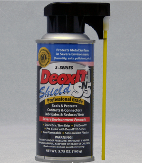 DeoxIT® Shield, #SN5S-6N (Non-Flammable, NO-DRIP)