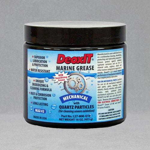 DeoxIT® Mechanical Marine Grease, #L27-MM-Q16 (Quartz particles)