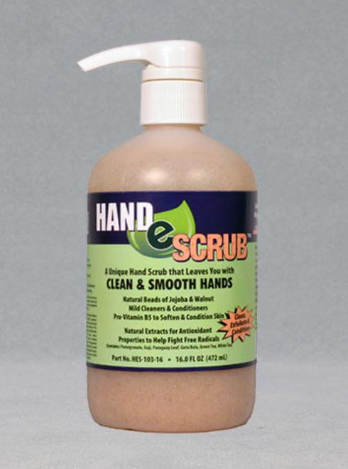 HAND-E-SCRUB, #HES-103-16, 472 mL Pump, Professional Hand/Skin Scrub