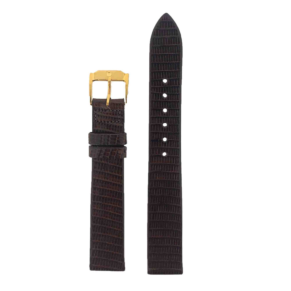 Watch Band Black LEA326-15 | Front