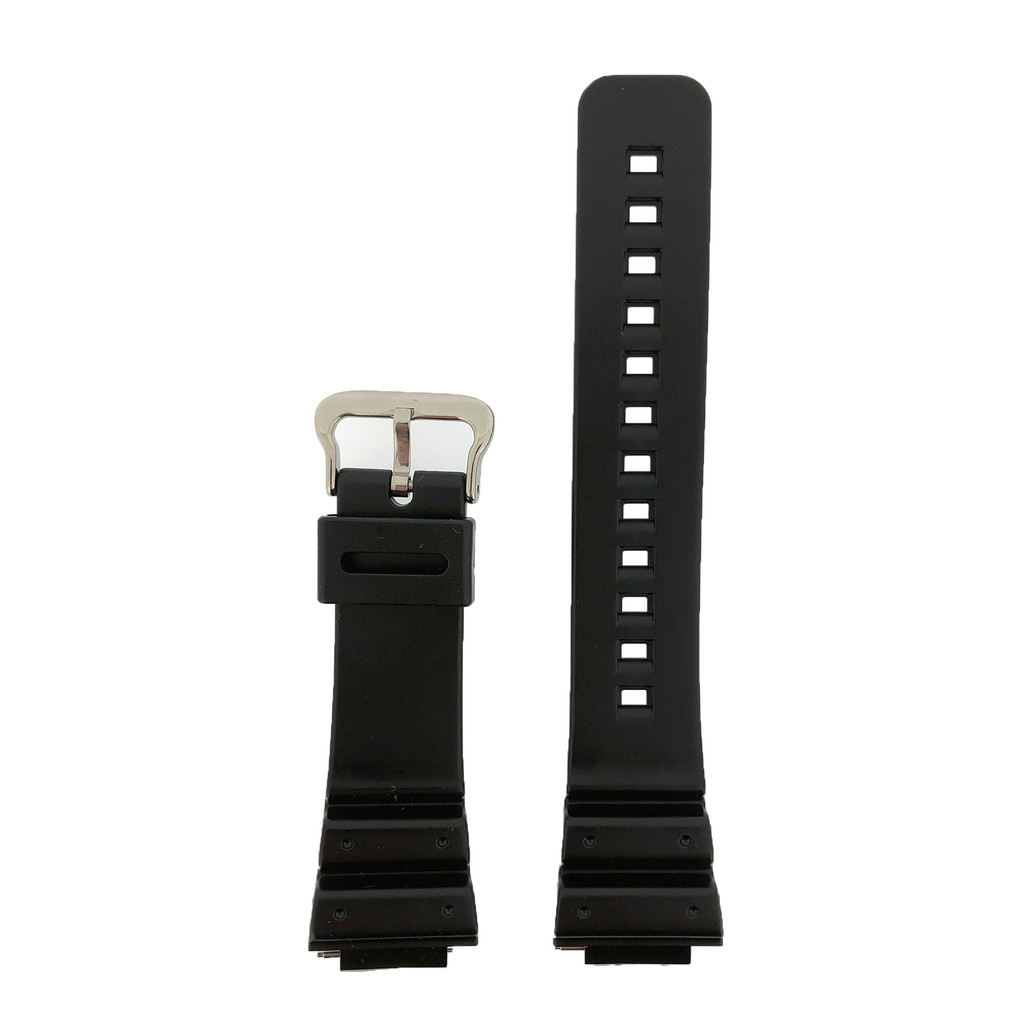 16mm Watch Band Fits Casio G-Shock Strap  Rubber DW-5900 DW-6100 DW-6695