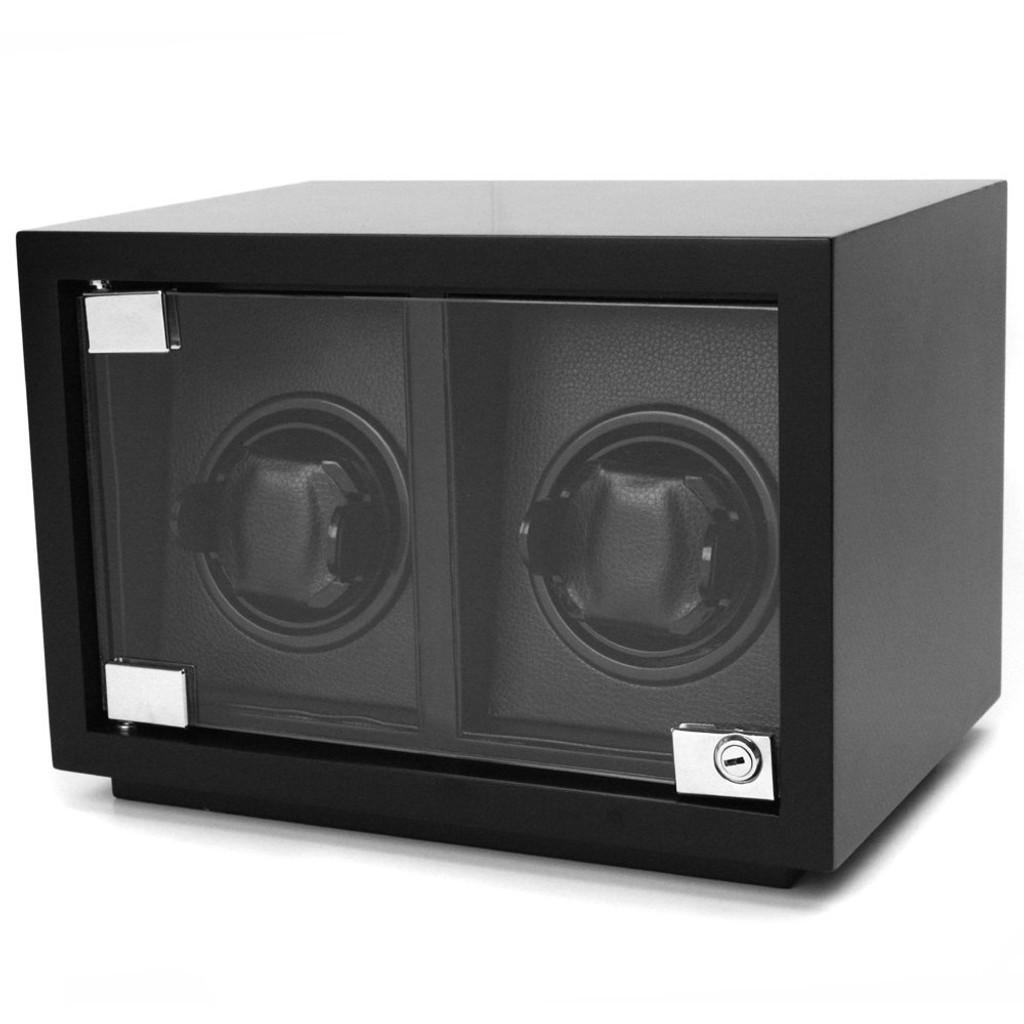 Black Carbon Fiber Watch Winter | TechSwiss TSW200CF | Main