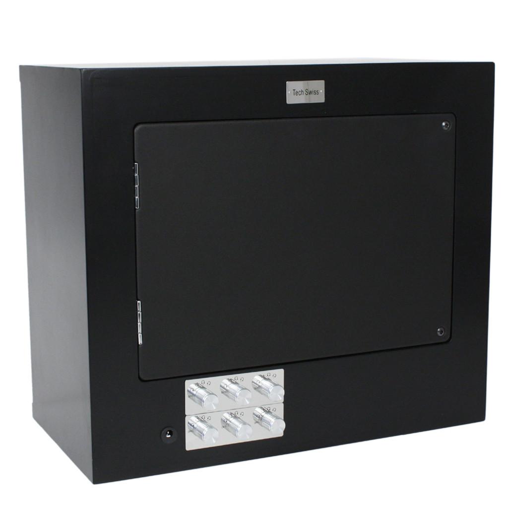 Carbon Fiber 6 Watch Winder TSW600CF back