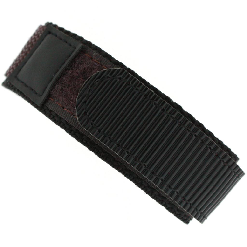 Brown Velcro Watch Band | TechSwiss Brown Velcro Watch Strap | VEL100BRN | Velcro