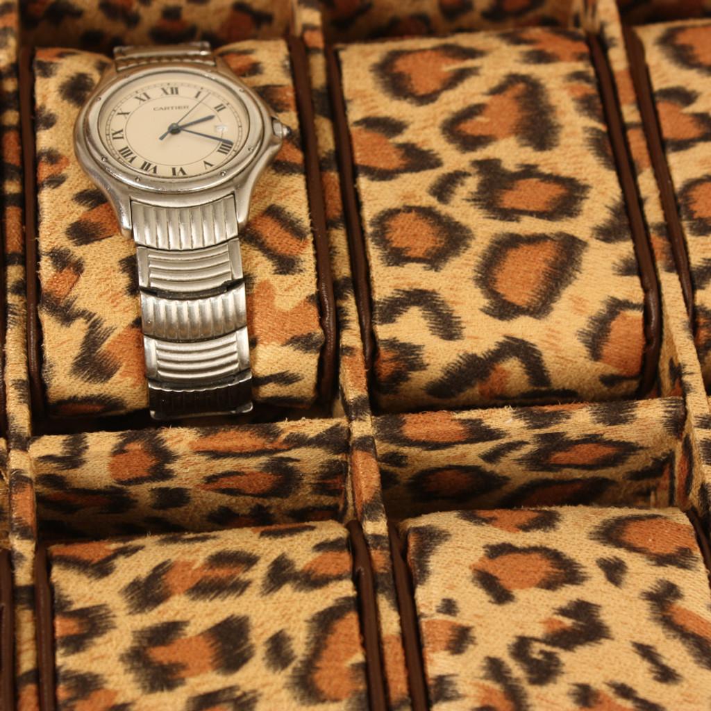 Animal Print Watch Case