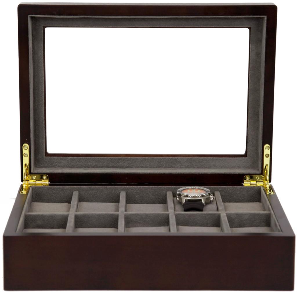 Watch Box in Espresso Finish