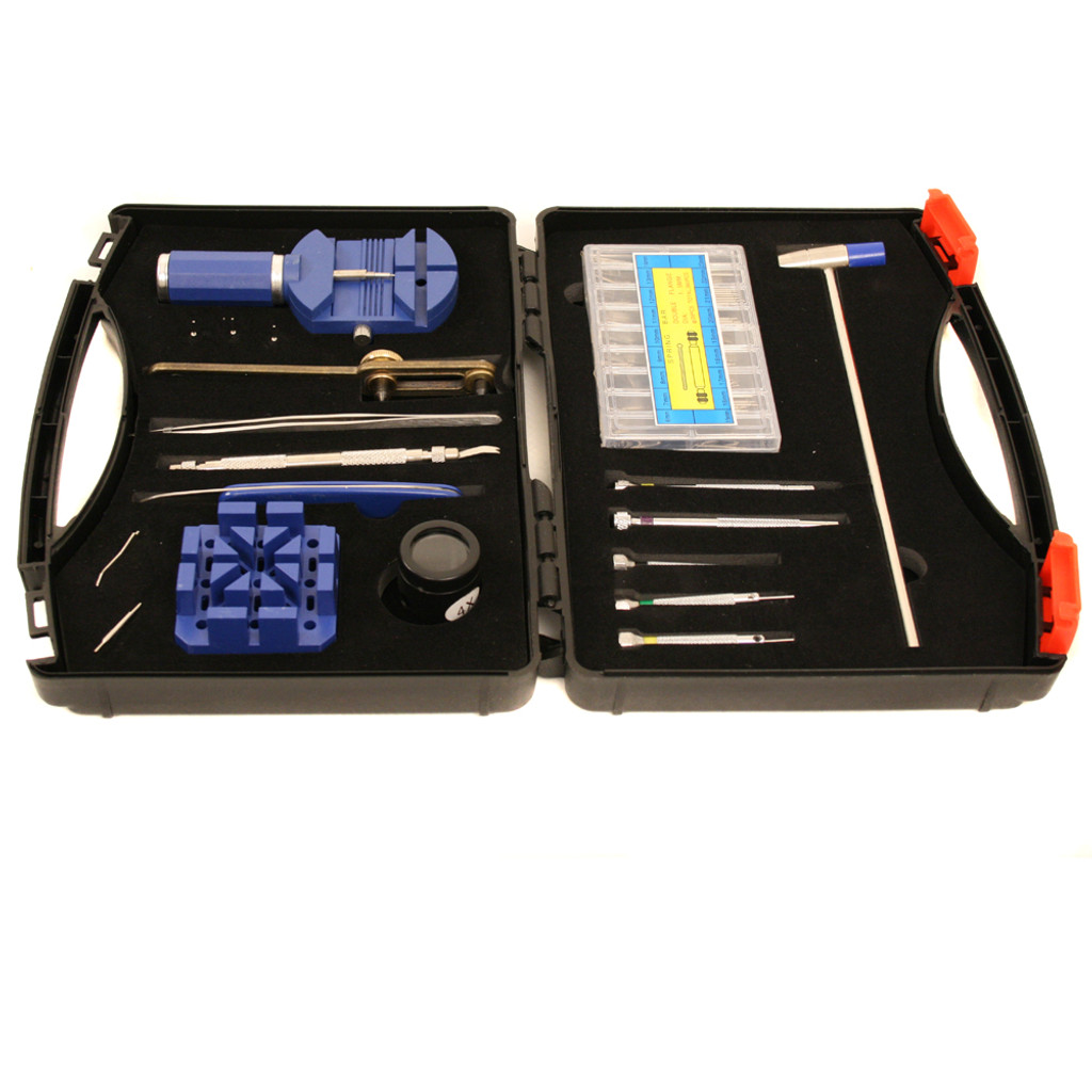 Watch Repair Tool Kit for Band Sizing, Battery Changing, Link Removal