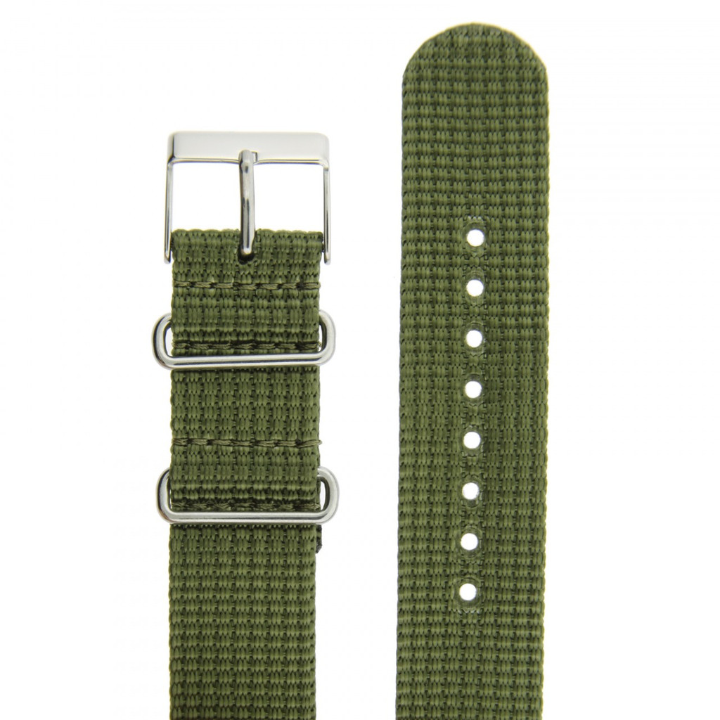 Olive Green Watch Band   TechSwiss NYL300OLV   Band