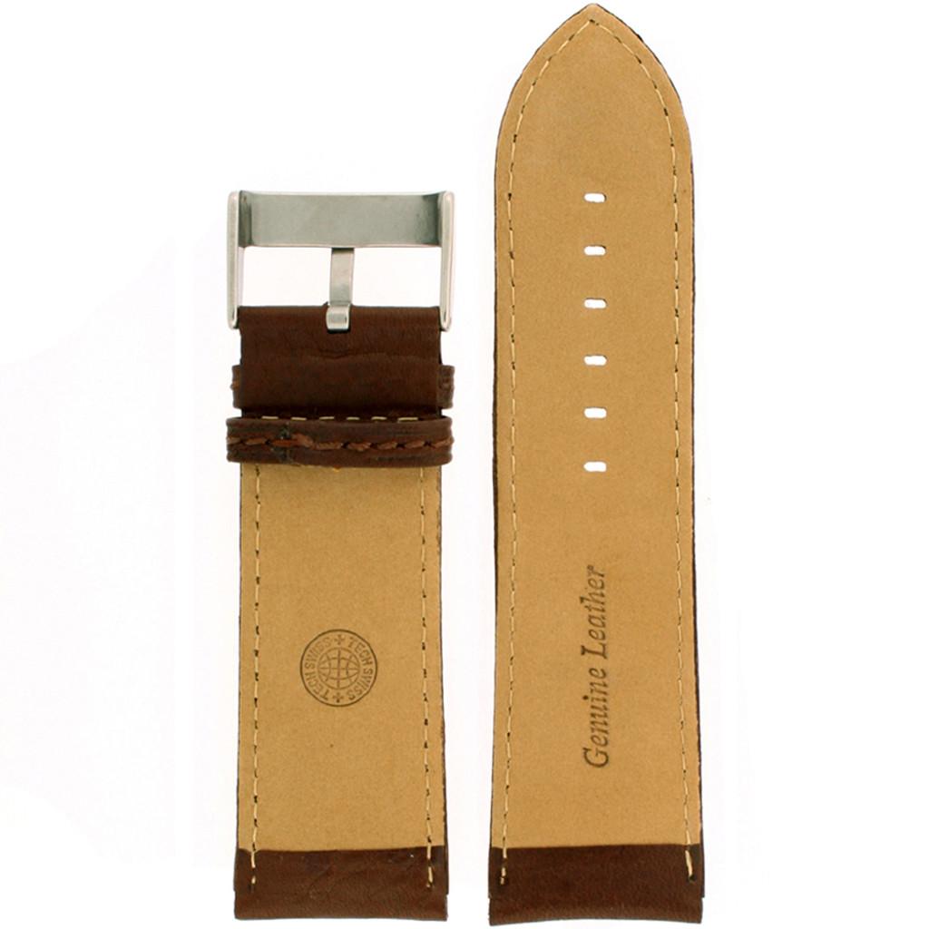 Extra Wide XL Watch Band in Espresso Calfskin
