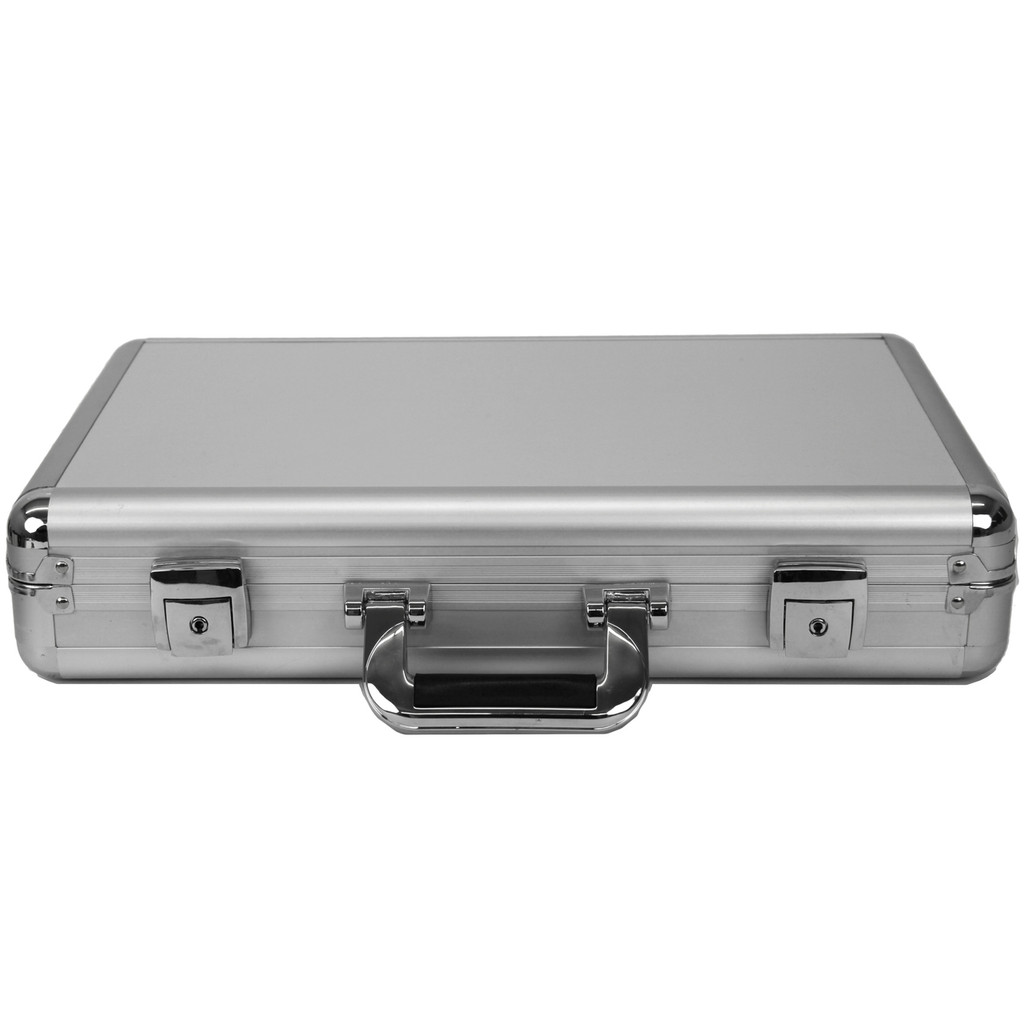 Watch Case Aluminum Briefcase Design For 24 Large Watches | Front