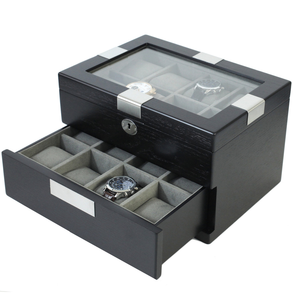 TSBOXBLK16 valet for watches