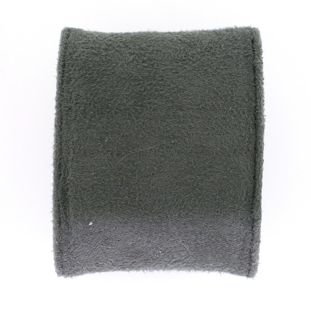 Large Plush Charcoal Grey Faux Suede Cushion TSCU-6A