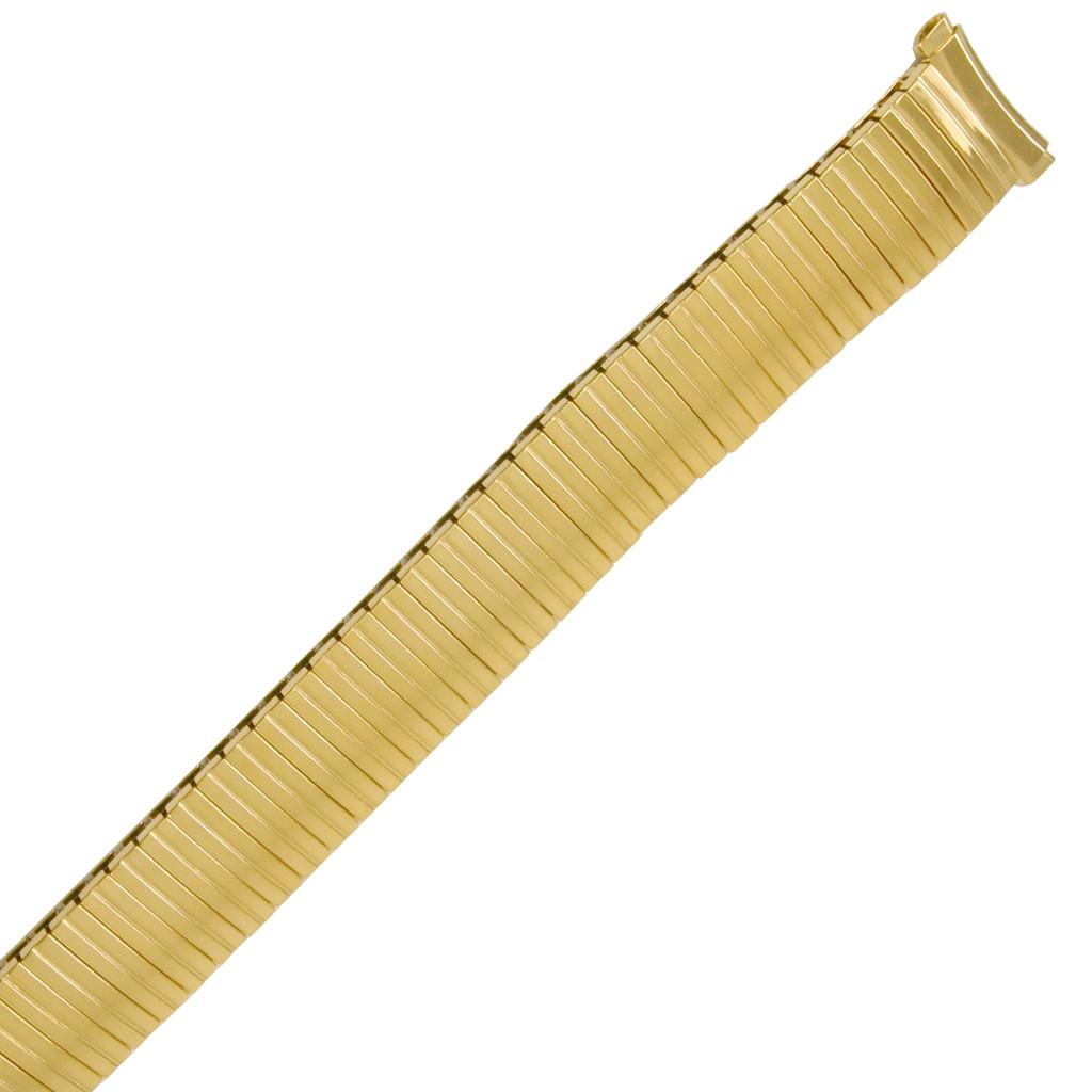 Original Speidel 15-18mm Gold-Tone Twist O Flex Expansion Watch Band