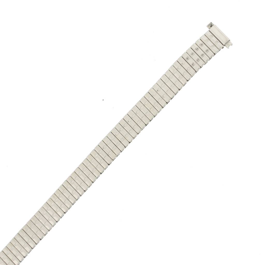 Lades Expansion metal watch band side view | TechSwiss MET164 | Replacement Straps | Main