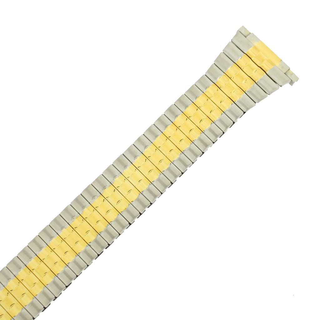TSMET178 Watch Band Expansion Metal Stretch Two-Tone